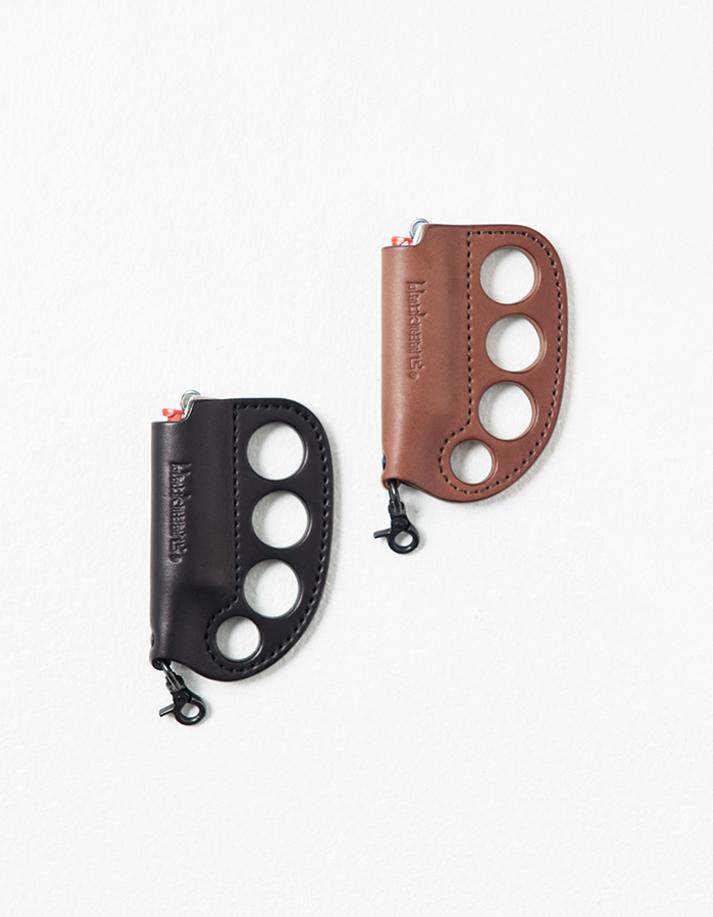Leather Knuckle Lighter Case