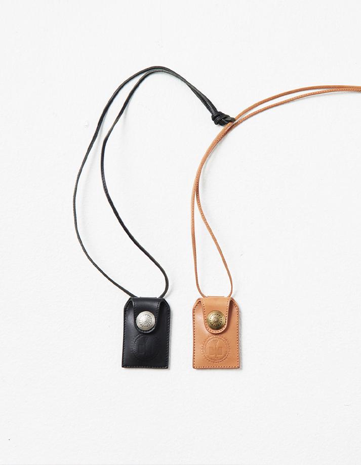 Omamori Case Leather Necklace